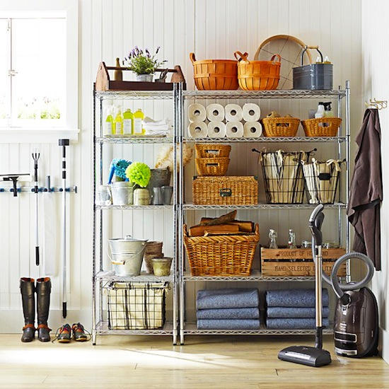 best attic storage ideas - 7 Ways to Organize Using Wire Shelving