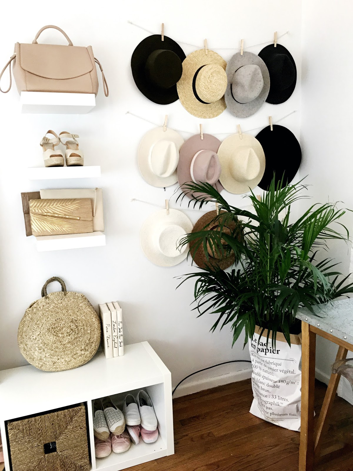 Organized hat collection ideas