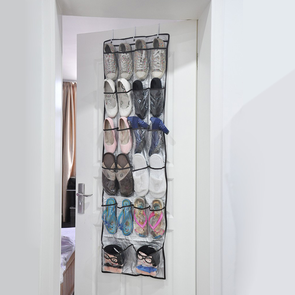 Behind The Door Shoe Storage Organizing And Ideas Organized Home