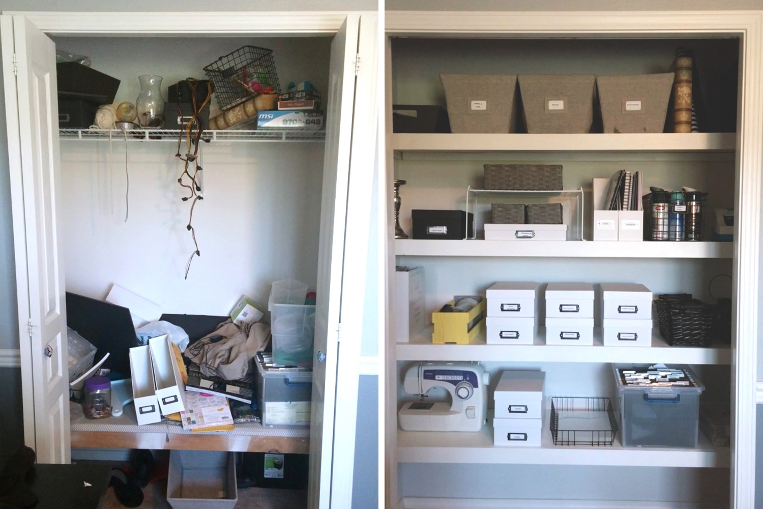 10 Organized Closet Before Afters