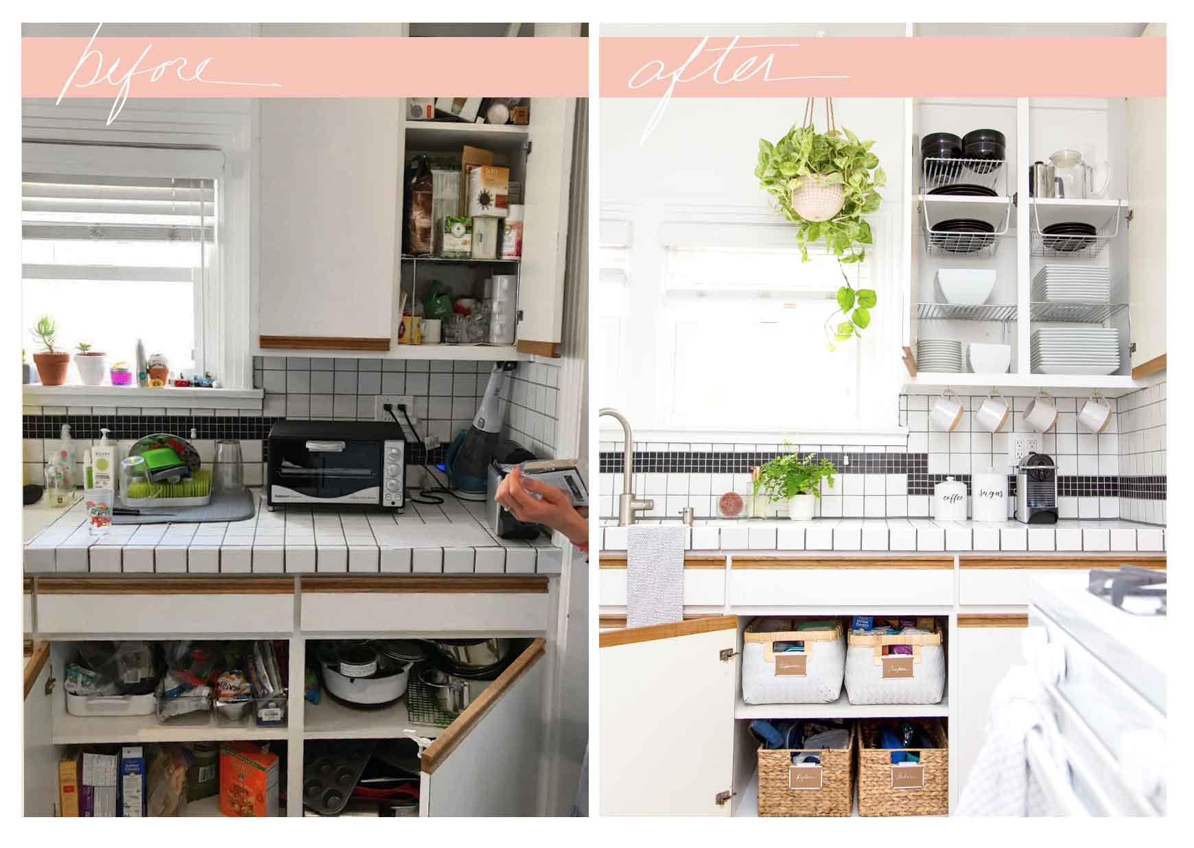 Small Kitchen Organizing Ideas & Storage Tips